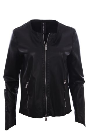 Leather jacket DELAN | 5032285 | A404100990