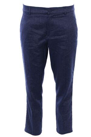Linen and cotton Rothka pants DONDUP | 5032272 | DP267LS0003D002800