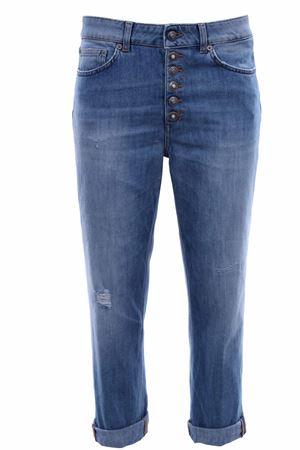 Jeans koons gioiello gamba larga DONDUP | 24 | DP268BDS0107DAA7800