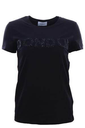 T-shirt with embroidery DONDUP | 8 | S007JS0241DZE2999