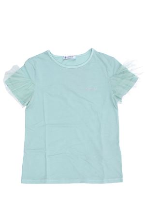 T-shirt con rouches in tulle DONDUP | 8 | YS184JY0013TZA26613