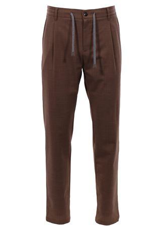 Wool stretch jogger pants ELEVENTY | 5032272 | A75PANA01TES0A05304