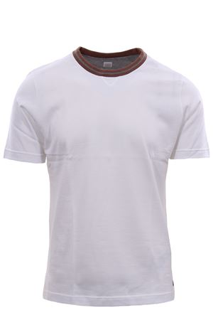 T-shirt in jersey collo a contrasto ELEVENTY | 8 | A75TSHA02JER0A00501N