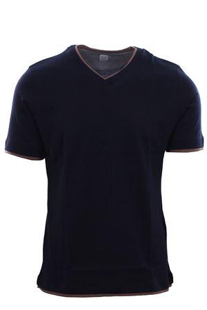 T-shirt in jersey effetto doppio capo ELEVENTY | 8 | A75TSHA06JER0A00611