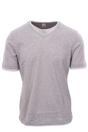 T-shirt in jersey effetto doppio capo ELEVENTY | 8 | A75TSHA06JER0A00613
