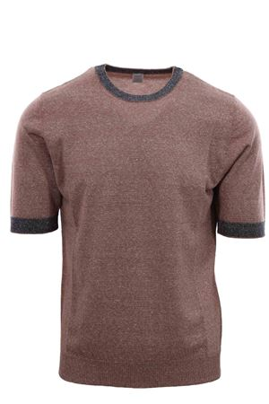 Cotton and linen jersey t-shirt ELEVENTY | -161048383 | A76MAGA21MAG0A03104