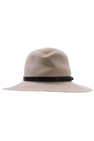 Hat with leather band ELEVENTY | 5032304 | A80CPLA03TES0A15300