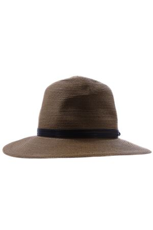 Hat with leather band ELEVENTY | 5032304 | A80CPLA03TES0A15304