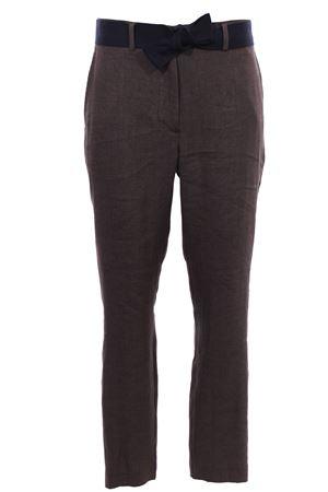 Linen pants with belt ELEVENTY | 5032272 | A80PANA15TES0A01705