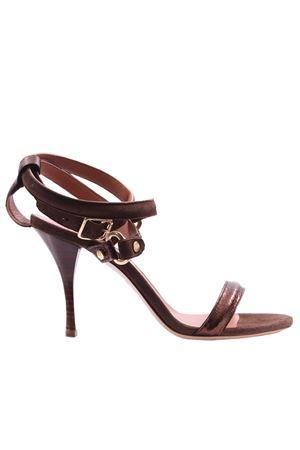Sandalo in suede con cinturino ELEVENTY | 5032296 | A80SCAA08SCA0A02225