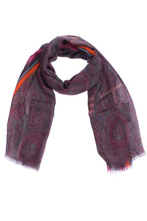 Delhy scarf with paisley pattern