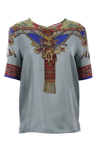 Silk t-shirt ETRO | 8 | 136034503200