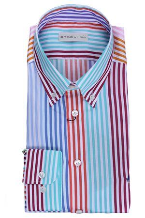 Camicia regular in cotone a righe ETRO | 5032279 | 1636560218000