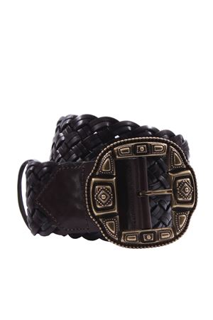 Leather belt ETRO | 5032288 | 1N1032271100