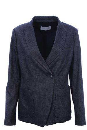Giacca blazer in lino e cotone FABIANA FILIPPI | 5032284 | GCD270W548A769VR2