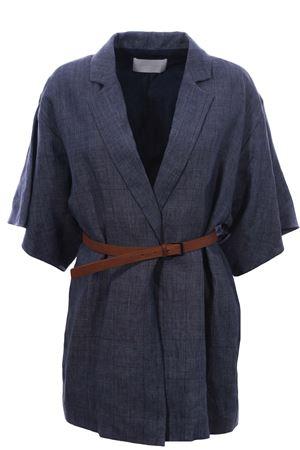 Linen jacket with belt FABIANA FILIPPI | 5032284 | GCD270W556A776VR2