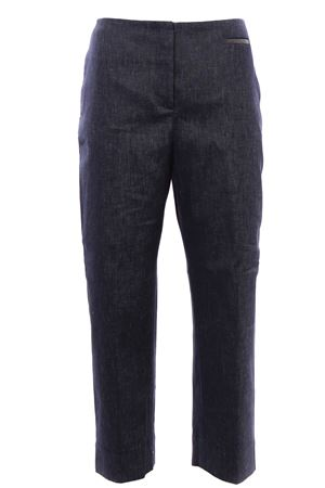 Linen and cotton pants FABIANA FILIPPI | 5032272 | PAD270W783A925VR2