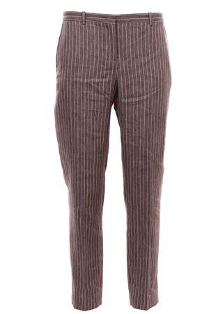 Pantaloni a sigaretta in lino FABIANA FILIPPI | 5032272 | PAD270W784A929VR2