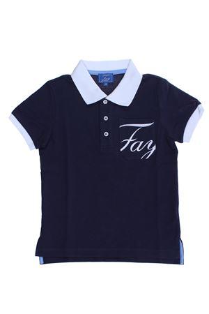 Polo manica corta bicolore FAY | 2 | 5M8121MX010621BC