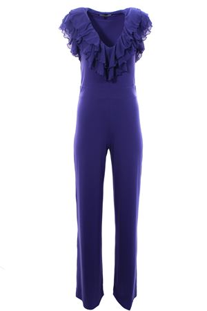 Jumpsuit with ruffles FISICO | 5032302 | P0FFT36M0INDACO