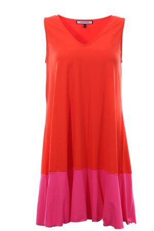 Sleeveless mini dress FISICO | 5032276 | P0FFV46MBMANGOARAMANTO