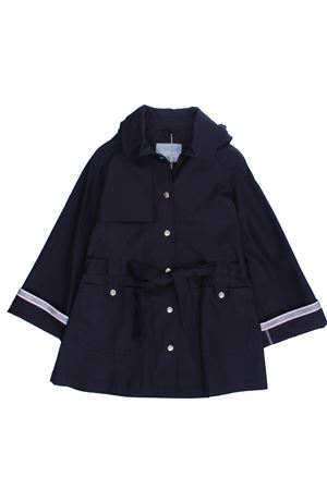 Raincoat with belt