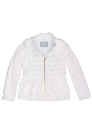 Jacket with ruffles
