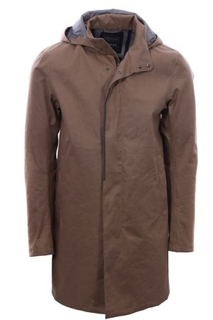 Galway 3 layer linen raincoat