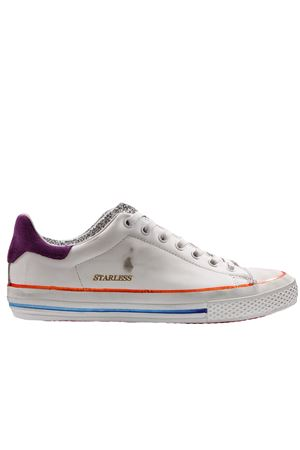 Sneakers starless white/silver glitter HIDNANDER | 20000049 | 1M20SW6074
