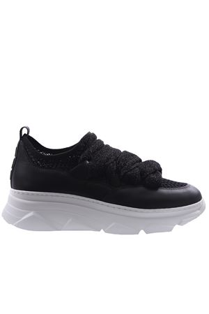Sneakers with lurex ribbon I8I | 20000049 | ANET252RVINERO