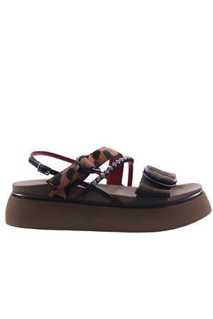 Sandals with applications I8I | 5032296 | ORIG286LEOARMY
