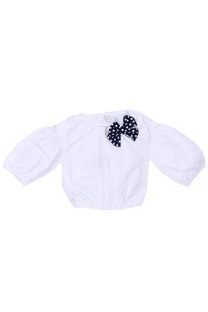 Sweatshirt with bow IL GUFO | -161048383 | GA336M00300149