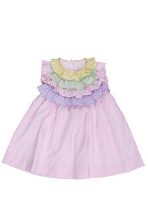 Sleeveless dress with ruffles IL GUFO | 5032276 | VM569C00463121