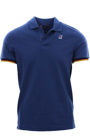 Polo vincent contrast in cotone stretch K-WAY | 2 | K008J50U379