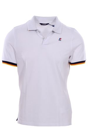 Polo vincent contrast in cotone stretch K-WAY | 2 | K008J50UK01