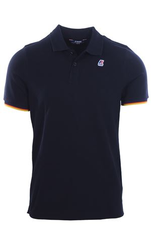 Polo vincent contrast in cotone stretch K-WAY | 2 | K008J50UK89