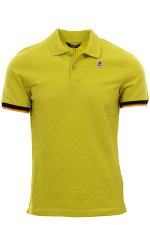 Polo vincent contrast in cotone stretch K-WAY | 2 | K008J50UV07