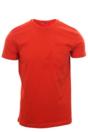 T-shirt ros K-WAY | 8 | K51121WUQ17