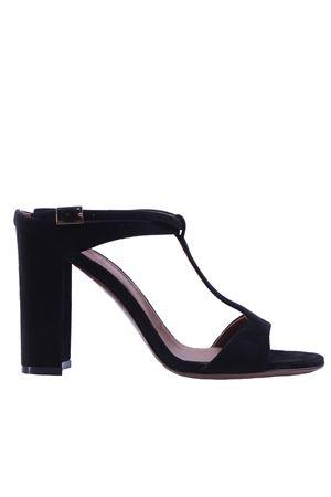 Suede sandals L