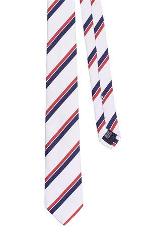Cravatta regimental in seta LA FERRIERE | 5032289 | CRCPARIGI37482