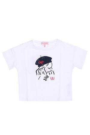 Cotton t-shirt with print LILI GAUFRETTE | 8 | GQ1011201