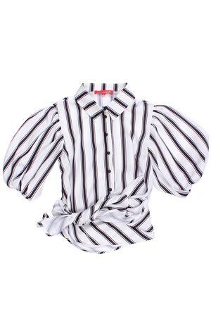 Camicia rigata con fiocco LOREDANA | 5032279 | P0301381121