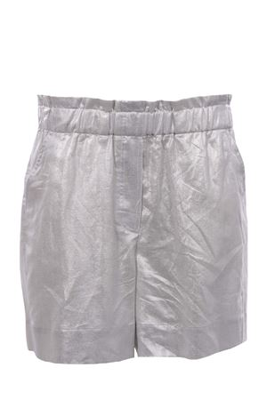 Linen and cotton shorts