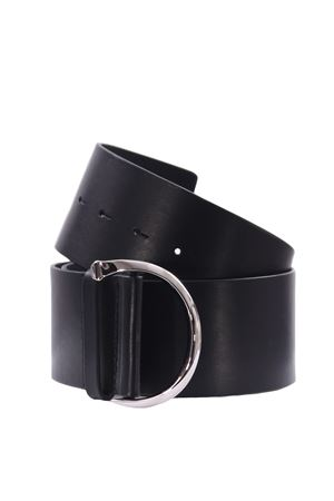 Cintura alta in pelle ORCIANI | 5032288 | D09948BULLNERO