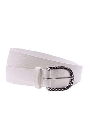 Leather belt ORCIANI | 5032288 | D09974SOFTBIANCO