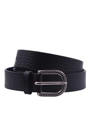 Cintura in pelle ORCIANI   5032288   D09974SOFTNERO