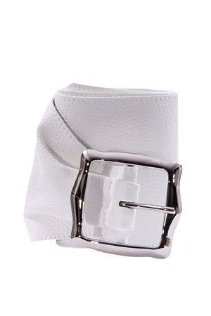 Leather belt ORCIANI | 5032288 | D09980MICRONBIANCO