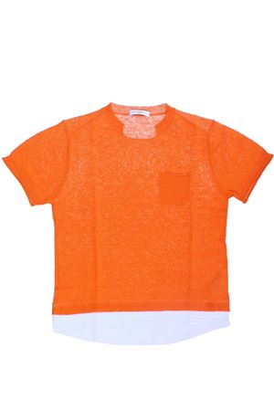 Linen and cotton t-shirt