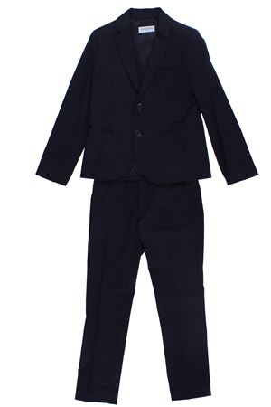 Stretch cotton suit
