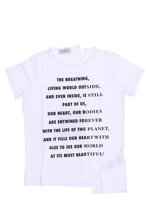 Cotton t-shirt PAOLO PECORA | 8 | PP2228BIANCO/NERO